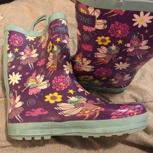 LoneCone rain boots 🥾 size 4